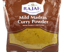 Mild Madras Curry