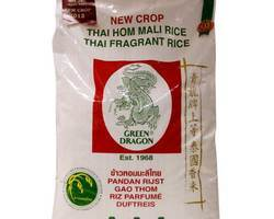Green Dragon Thai Hom Mali Fragrant Rice 20kg