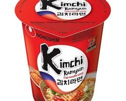 Instant cup noodles Kim Chi Ramen