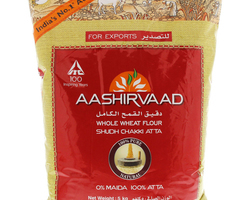 Aashirvaad Whole Wheat Flour Shudh Chakki Atta 5kg