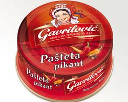 Gavrilovic Pastete Pikant 100gr
