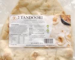 Sounas Tandoori Style Naan 2pcs