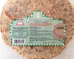 Sounas 4 Methi Rotis Chapatis