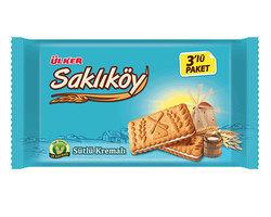 Ulker Saklikoy Sutlu Kremali Biskuvi 264gr