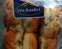 Vos Banket Mini Roomboter Rozijnenbollen 360gr