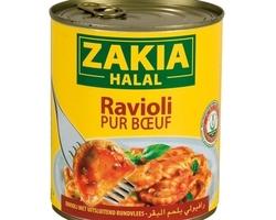 Zakia Raviolis Au Boeuf 800gr