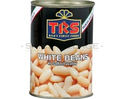 TRS White Beans Boiled Canned 400gr