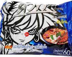 Wai Wai Instant Noodles Tom Klong Flavour 30x60gr
