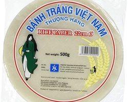 H & S Rice Papier 22cm 500gr