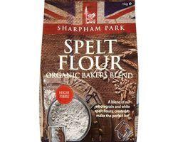 Sharpham Park Organic Wholegrain Spelt Flour 1kg