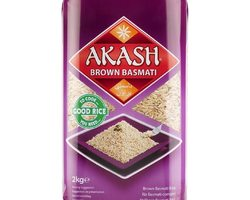 Akash Brown Basmati Rice 2kg