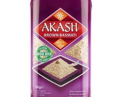 Akash Brown Basmati Rice 2kg