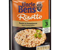 Uncle Ben's Express Risotto Kip & Champignons 250gr