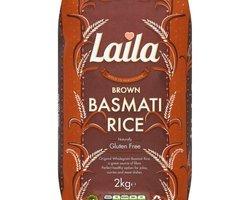 Laila Brown Basmati Rice 2kg