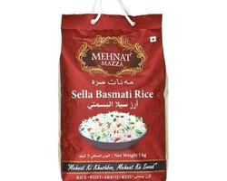 Mehnat Mazza Sella Basmati Rice 5kg