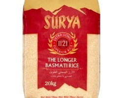 Surya Basmati Rice 20kg