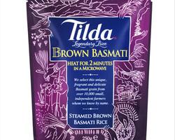 Tilda Brown Basmati Rice 250gr