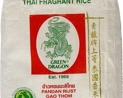Green Dragon Thai Hom Mali Fragrant Rice 5kg