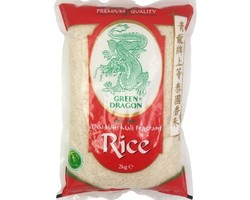 Green Dragon Thai Hom Mali Fragrant Rice 2kg